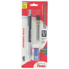 0.5 mm Fine Graphgear 500 Automatic Pencil (Set of 6)