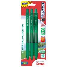 0.7 mm Needle Point Gel Pen in Green (Set of 6)