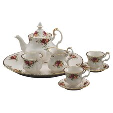 Old Country Roses Le Petite Miniature 9 Piece Tea Set