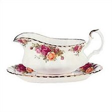Old Country Roses Gravy Stand