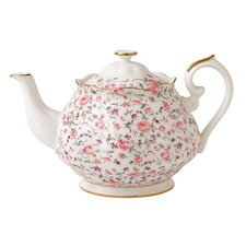 Rose Confetti Formal Vintage Teapot