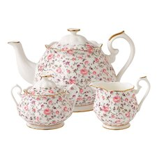 Rose Confetti 3 Piece Tea Set