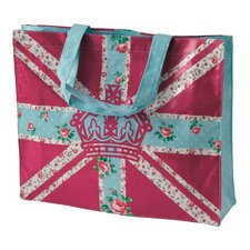 Bright Union Jack Plasticised Shopping Tote