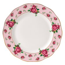 "New Country Roses Formal Vintage 10.6"" Dinner Plate"