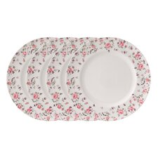 "Rose Confetti Casual 11.1"" Dinner Plate (Set of 4)"