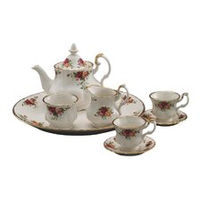 <strong>Royal Albert</strong> Old Country Roses Le Petite Miniature 9 Piece Tea Set