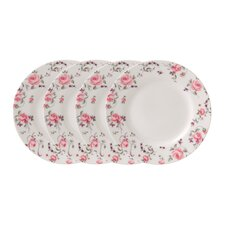 "<strong>Royal Albert</strong> Rose Confetti Casual 6.5"" Bread and Butter Plate (Set of 4)"