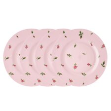 "New Country Roses Casual 8"" Salad Plate (Set of 4)"
