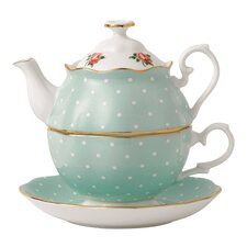 New Country Roses 2 Piece Tea Set