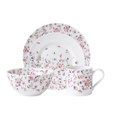 Rose Confetti Modern Casual 4 Piece Place Setting