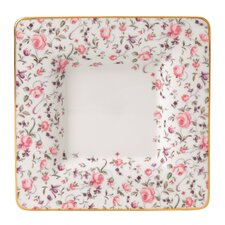 "Rose Confetti Square 7"" Trinket Tray"