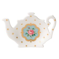 New Country Rose Tea Bag Tray