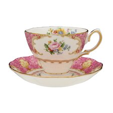Lady Carlyle Teacup and Saucer (Set of 2)