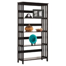 Four Tier Bookshelf in Espresso