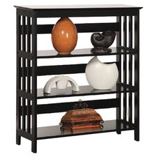 Three Tier Bookshelf in Espresso