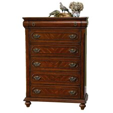 "Isabella 5 Drawer 54"" Chest"