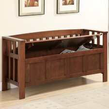 Somerton Wooden Entryway Storage Bench