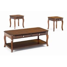 <strong>Wildon Home ®</strong> Bingham 3 Piece Coffee Table Set