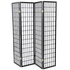 "<strong>Wildon Home ®</strong> 70.25"" x 69"" Quincy Japanese Folding 4 Panel Room Divider"