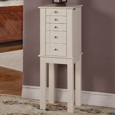 Winston 4 Drawer Jewelry Armoire with Mirror