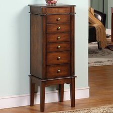 Elanor 6 Drawer Jewelry Armoire with Mirror