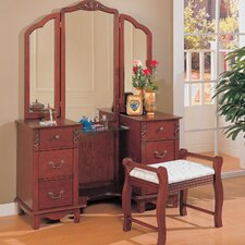 <strong>Wildon Home ®</strong> Winlock Vanity Set with Mirror