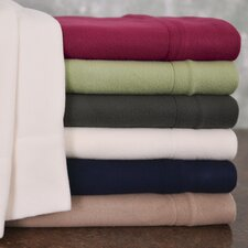 Winter Nights Fleece Sheet Set