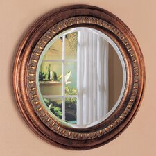 "<strong>Wildon Home ®</strong> 30"" H x 30"" W Toledo Beveled Round Mirror"