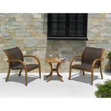Bronson Outdoor 3 Piece Seating Set