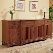 """Akron 99"""" TV Stand"""