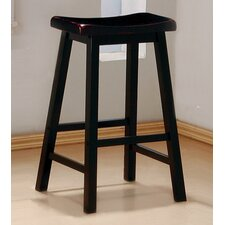 "Aloha 29"" Bar Stool in Antique Black"
