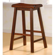 "Aloha 29"" Bar Stool in Dark Walnut"