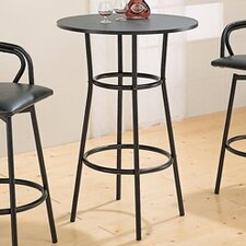 "Pitkin 28"" Bar Table in Black"