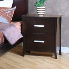 Newport 2 Drawer Nightstand