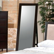 <strong>Wildon Home ®</strong> Ventura Standing Floor Mirror in Cappuccino