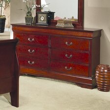 Strasburg 6 Drawer Dresser