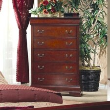 <strong>Wildon Home ®</strong> Strasburg 5 Drawer Chest