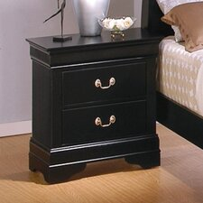 <strong>Wildon Home ®</strong> Thatcher 2 Drawer Nightstand
