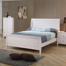 <strong>Wildon Home ®</strong> Twin Lakes Sleigh Bed