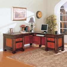 <strong>Wildon Home ®</strong> Nesika Beach Executive Desk
