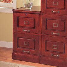 <strong>Wildon Home ®</strong> Parkdale Two Drawer File in Cherry