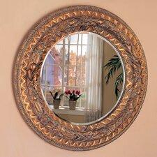 Tacoma Beveled Round Mirror
