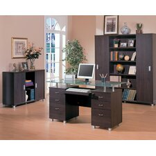 <strong>Wildon Home ®</strong> Covina Standard Desk Office Suite