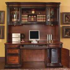 <strong>Wildon Home ®</strong> Corona Computer Desk with Hutch