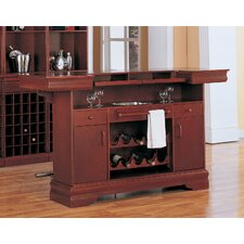 <strong>Wildon Home ®</strong> Tiernan Bar Table with Footrest in Cherry