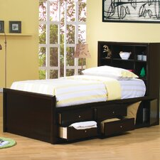<strong>Wildon Home ®</strong> Applewood Chest Bed in Rich Deep Cappuccino