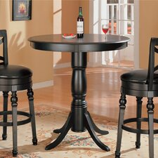 "Littleton 42.25"" Bar Table in Black"