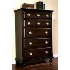 <strong>Wildon Home ®</strong> Marlon 5 Drawer Chest