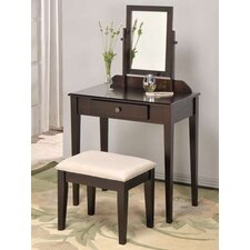 Vanity Set with Mirror