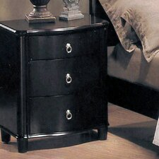 Sada 3 Drawer Nightstand